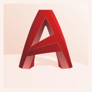 Logo du logiciel Autocad, Plans et 3D