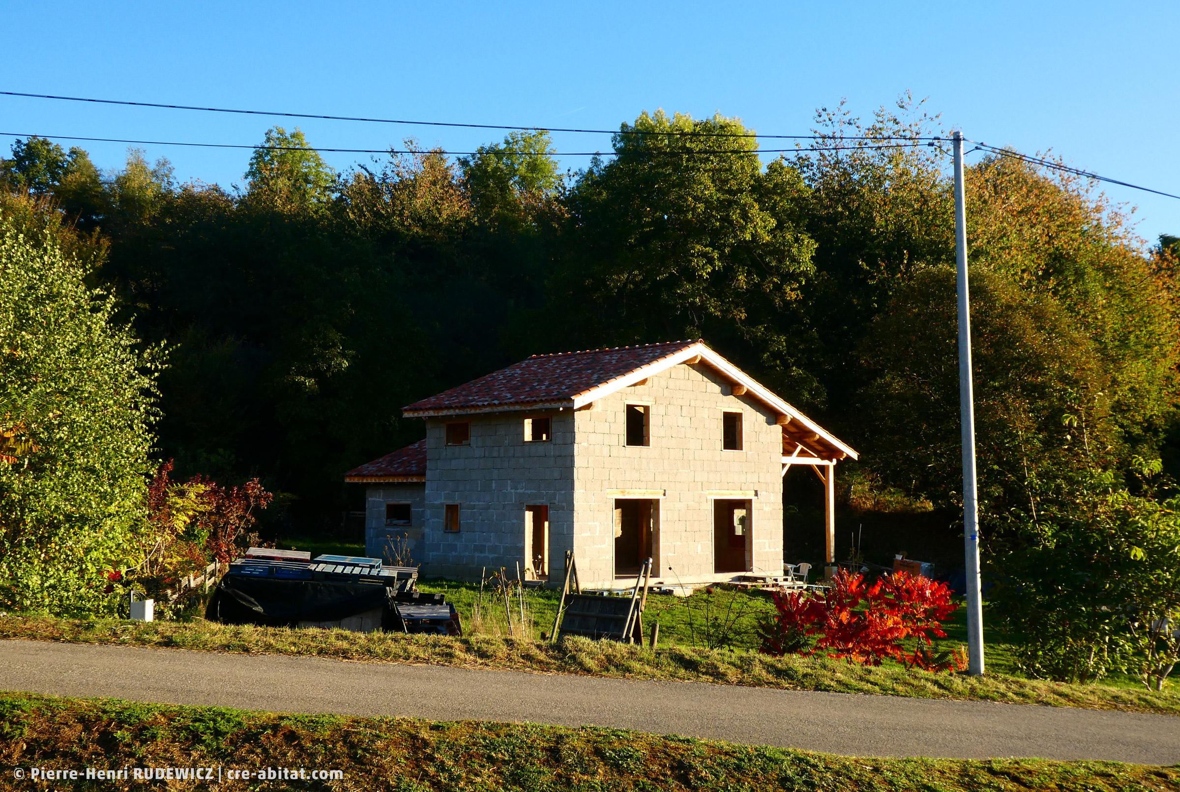Maison individuelle Bois et Chanvre - Vue d'ensemble